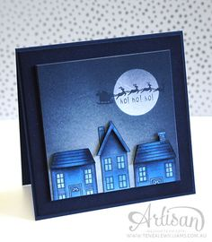 By Teneale Williams   Artisan Blog Hop   Blendabilities with Holiday Home