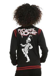 0664c8719d1 My Chemical Romance Black Parade Girls Varsity Jacket