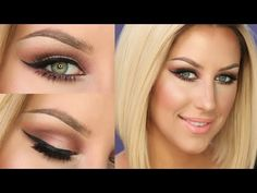 ▶ Soft Skin & Sultry Eyes Tutorial - YouTube