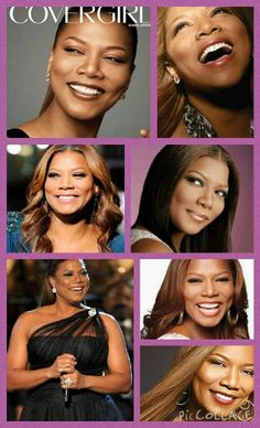 The amazing Queen Latifah made by Hampton Golden and check out Landry Searcy's Queen Latifah collage on her pintrest