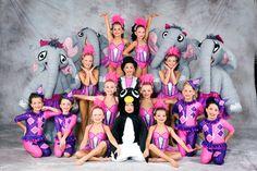 Calisthenics, look at those cute elephants! Cute Elephant, Calisthenics, Costume Design, Elephants, Gymnastics, Dancing, Memories, Costumes, Inspiration