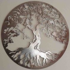 "Receive terrific suggestions on ""metal tree wall art decor"". They are readily av… Receive terrific suggestions on ""metal tree wall art decor"". They are readily available for you on our web site. Iron Wall Decor, Wall Art Decor, Stencil, Metal Tree Wall Art, Metal Artwork, Plasma Cutting, Cnc Plasma, Art Mural, Art Art"