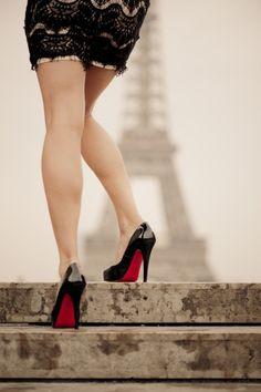Louboutins à Paris.
