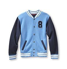 Ruff Hewn Boys' 2T-20 Fleece Varsity Jacket