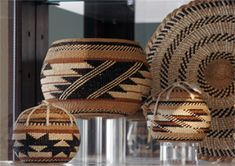 Beautiful Baskets from Tribes along Klamath River