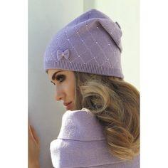 Wełniana czapka damska Kamea Klara