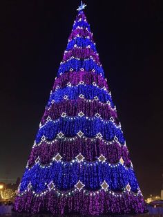 New year mood in Baku Christmas Light Show, Christmas Light Displays, The Night Before Christmas, Modern Christmas, Christmas Pictures, Beautiful Christmas, Unusual Christmas Trees, Outdoor Christmas Decorations, Xmas Tree
