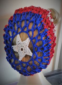 Captain America hair snood
