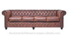Check out this product on Alibaba.com APP Chesterfield Vintage Brown 4 Seat Sofa