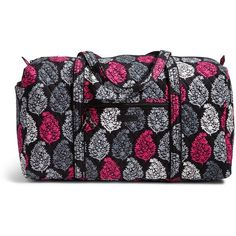 Vera Bradley Large Duffel 2 0 Travel Bag In Northern Lights 85 Liked On