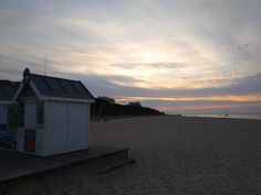 Arcachon sunset France French Trip, Shed, Outdoor Structures, France, Sunset, Sunsets, Barns, The Sunset, Sheds