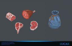 ArtStation - Hand painted assets , Lucas Fernandes