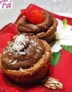 Cupcakes de Chocolate Dukan   Fabíola Bianco