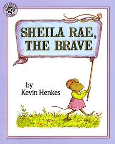 "Habit Think Win-Win . ""Sheila Rae, the Brave"" by Kevin Henkes. When brave Sheila Rae, who usually looks out for her sister Louise, becomes lost and scared one day, Louise comes to the rescue. E Hen Text To Text Connections, Making Connections, Sheila Rae The Brave, Text To Self Connection, Seven Habits, 7 Habits, Trade Books, Map Skills, Leader In Me"