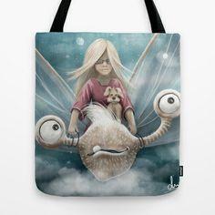 dreamy ride Tote Bag by AnjaMeyer - $22.00