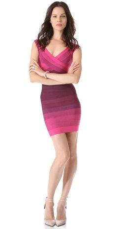 Herve Leger Nannette Dress