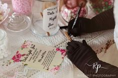 Kitchen Tea / Bridal shower : Date night jar