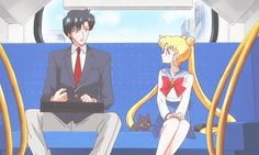 """How many times can Sailor Moon say, """"Mamo-chan"""" in one episode? The citizens are brainwashed again. Usagi knows who the Tuxedo Mask is. And Umino is as creepy as ever."""