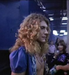 Robert Plant | Pre-Show at Madison Square Garden in The Song Remains The Same.
