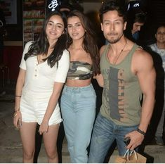 PHOTOS: SOTY 2 actors Tiger Shroff, Ananya Panday & Tara Sutaria get together for a party post film's release Bollywood Outfits, Bollywood Actors, Bollywood Celebrities, Indian Actress Photos, Indian Actresses, Actors & Actresses, Glamour Ladies, Best Hero, Boy And Girl Best Friends