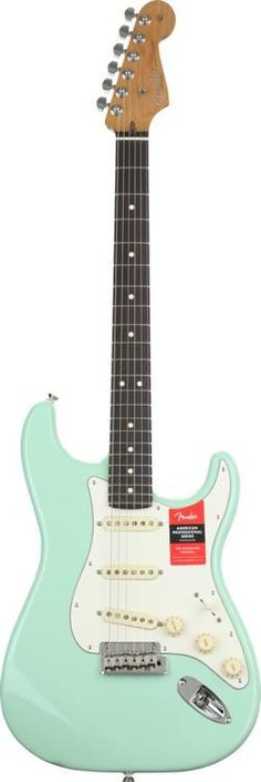 Fender American Professional Stratocaster Sweetwater Exclusive - Surf Green w/ Roasted Maple Neck/Rosewood Fingerboard image 2 1962 Fender Stratocaster, Fender American, Beautiful Guitars, Surfing, Music, Green, Image, Musica, Musik