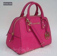 Michael Kors Hot Pink Handbag Loving It