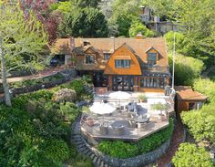 We say #WOW to this historic waterfront estate on #Belvedere Island. Generous deep-water dock, views of San Francisco Bay and lush gardens. #Dreamy http://pacunion.us/296BeachRd
