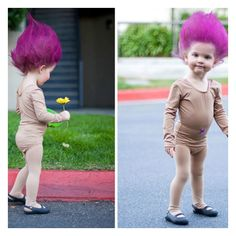 Cool Halloween Costume Ideas 2016 will be here before you know it. Whether you're looking for easy Halloween costume ideas, adorable baby costumes too cute not to steal or … Troll Halloween Costume, Halloween Kostüm, Holidays Halloween, Halloween Costumes For Kids, Best Toddler Halloween Costumes, Most Creative Halloween Costumes, Original Halloween Costumes, Family Halloween, Halloween Meninas