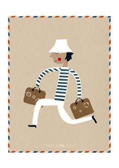 Voyageur por blancucha en Etsy