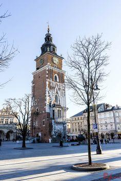 Rynek Główny (Main Square) in Krakow Old Town, Poland (January 2015)