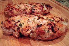 Lemon-Basil Buttermilk Grilled Chicken | Plain Chicken