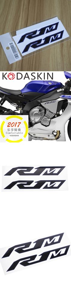 KODASKIN Freeshipping Emblem 2D Sticker Decal motorcycles graphic moto  for YAMAHA YZF R1 R1_M R1M 2pieces
