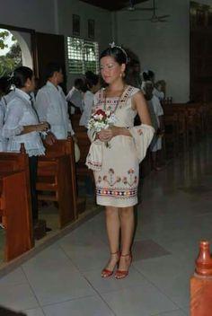 Vestido marcado