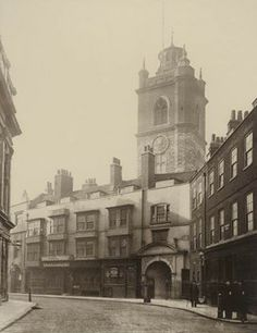 St Giles, Cripplegate, 1884. This photograph was commissioned by the Society for Photographing Relics of Old London to form part of a perman...