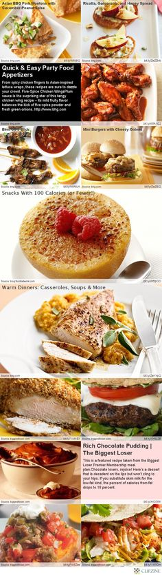 Healthy Recipes - the biggest loser