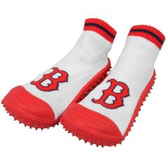Skidders Boston Red Sox Kids Slip-Resistant Indoor/Outdoor Slip-On Hybrid Shoes with Socks SkidDERS. $19.95