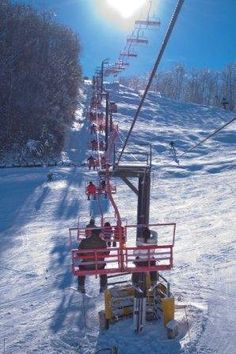 Ober Gatlinburg skiing. Wish I was here right now!