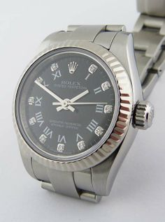 Rolex Ladies SS Oyster Perpetual in SS