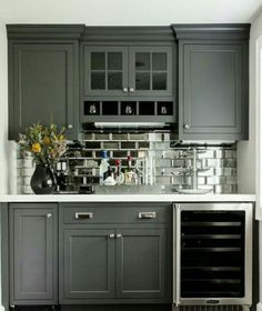 Charcoal kitchen