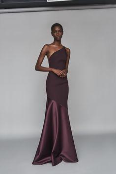 Solace London Violeta Maxi Dress Aubergine