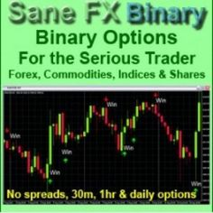 SaneFX – binary system based on Forex system SaneFX from           SaneFX Binary gives you the opportunity to trade a variety of instruments with a few mouse clicks and get a 70%+ return on your option price the guide contains extensive information on how to choose profitable instruments, be they