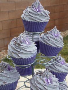 Lavender Fields soap cupcakes...