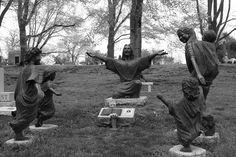 Cave Hill Cemetery in Kentucky...joyful
