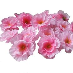"""Items Sold by """"Angelovesmile"""", Shipping time is 7-12 Working Days to USA with Tracking number. Beautiful Artificial Flowers ,Wonderful Life Decoration ,Welcome to Wholesale !!!. Flower Diameter is 4.5-5cm. Perfect for Wedding Party Home Garden Decoration,Bridal Hair Clip Wreath Dress Hat DIY Accessories. There are 5 Colors for Choose,Pink/Red/Yellow/Hot Pink/White."""