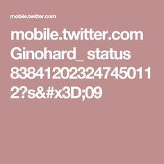 mobile.twitter.com Ginohard_ status 838412023247450112?s=09