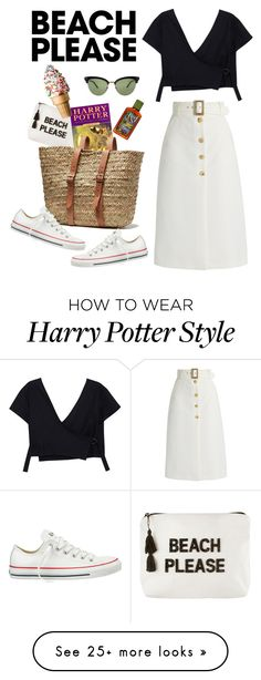 Designer Clothes, Shoes & Bags for Women Bella Freud, Harry Potter Characters, Royce, Converse, Gucci, Fandoms, Beach, Polyvore, How To Wear