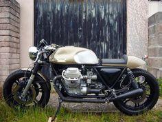 Moto Guzzi Cafe Racer - Motonero Motorcycles - RocketGarage