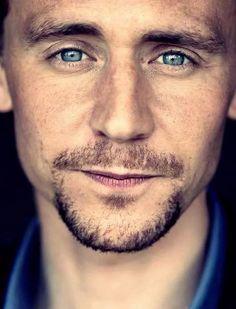 So true ♥ tom hiddleston том хиддлстон Indigo Eyes, King Tom, Tom Hiddleston Funny, Behind Blue Eyes, Thomas William Hiddleston, Marvel Movies, Marvel Characters, Hollywood Celebrities, Perfect Man