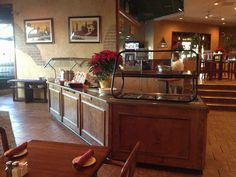 Our Buffet area