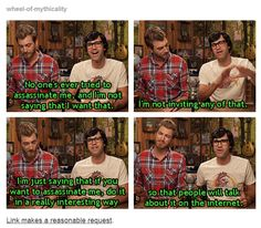 link makes a reasonable request